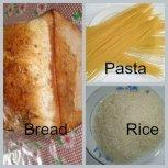 Bread Pasta Celeals