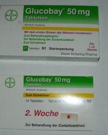 glucobay 50 mg