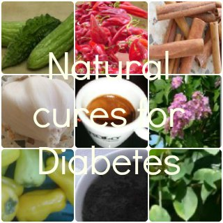 list of  natural cures for  diabetes