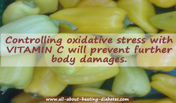 vitamin c  as  part of natural cures diabetes