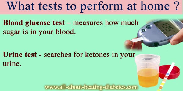 what tests to perform at home