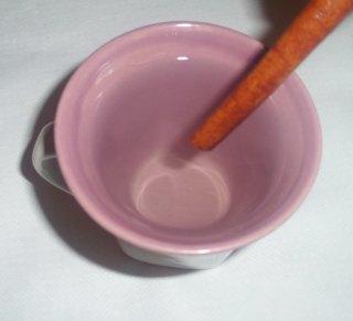 cinnamon stick inside the boiled