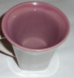 Cup of water for cayenne drink