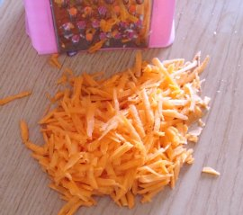 cut the carrots