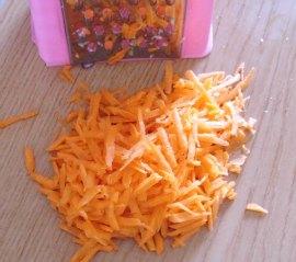 cut the carrots