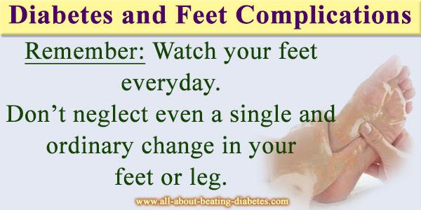 diabetes feet