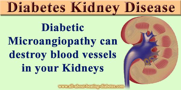 kindney diabetes