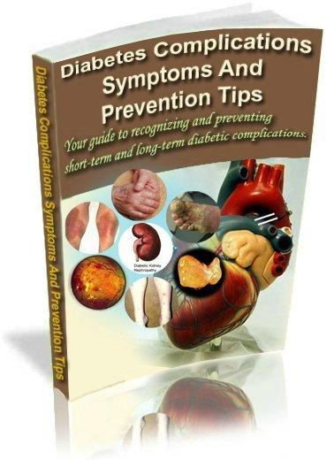 Diabetes complication ebook