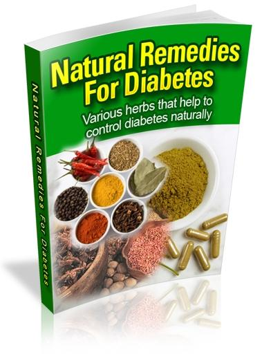 Natural Cures for Diabetes - Herbal Remedies for Diabetics
