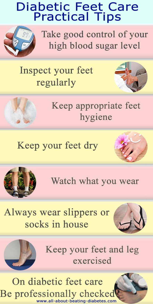 diabetes feet care
