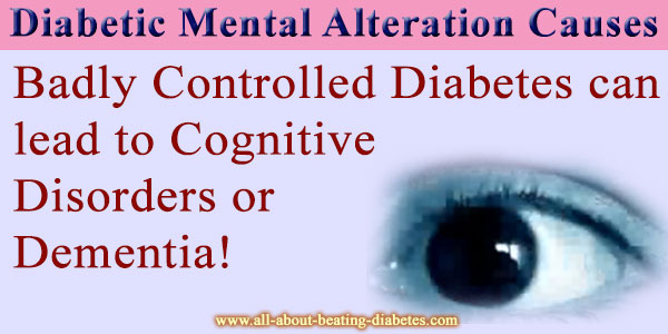 Diabetic  Altered Mental
