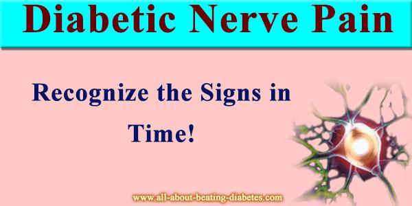 diabetes nerves pain