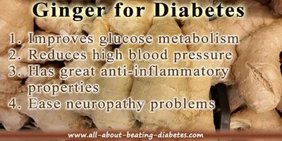 Ginger Benefits For Diabetes