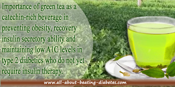 green tea diabetes benefits