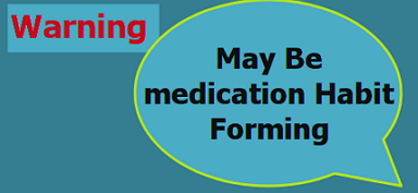 Medication habit forming