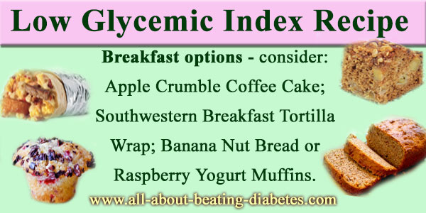 low glycemic index recipe