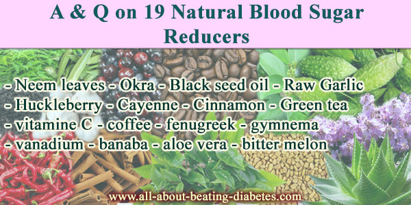 A-&-Q-on-19-Natural-Blood-Sugar-Reducers