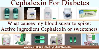 Cephalexin and  Diabetes