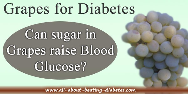 grapes for diabetes