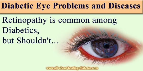diabetes eye probles