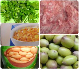Foods  vanadium