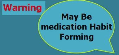 Medication habit forming